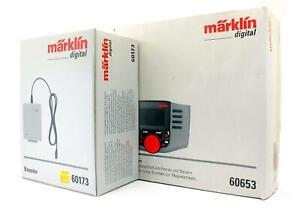 MARKLIN DIGITAL 'HO' GAUGE 60653/60173 MOBILE STATION CONTROLLER & BOOSTER
