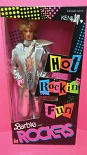 Barbie Mattel Ken And The Rockers Vintage 86'