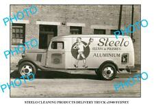 OLD 6 x 4 PHOTO OF STEELO CLEANING TRUCK c1940 NSW