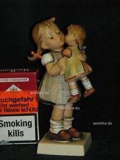 """Goebel Hummel 311 """"mi sono molto care"""", Kiss me, ragazza con bambola, Girl, doll"""