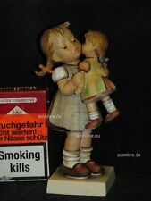 "Goebel Hummel 311 ""Quiéreme"", Kiss Me, chica con muñeca, Girl, Doll"