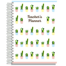Pirongs A5 Academic Teachers' Planner 8 Lesson Day Edition 44 Cover Designs