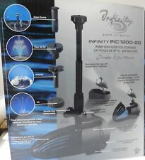 Cal Pump Infinity Pond Nozzle Collection with 1200 GPH Pump