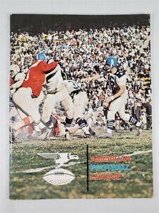 American Football League 1960s Program AFL Vintage