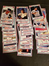 1990 Post Set #1-30 - MLB