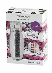Swarovski Crystalpixie Exotic East Nail Art
