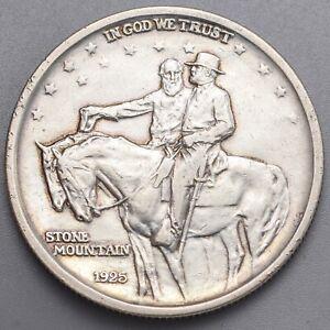 1925 Stone Mountain Georgia Commemorative 50c (Half Dollar) Very Fine