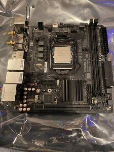 Gigabyte H170N-wifi ITX Motherboard Intel I5 6600K Bundle, See Description