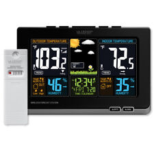 La Crosse Wireless Color Weather Station, Black (308-1414B)