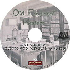 Old Fashioned Formulas & Chemical Recipes on DVD