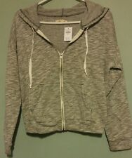 NWT Womens Hollister Cropped Hoodie Size M FREE USA SHIPPING