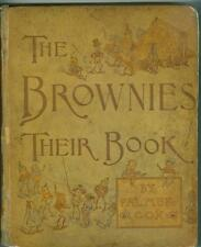 The Brownies: Their Book by Palmer Cox 1887 G/VG Rare Book One