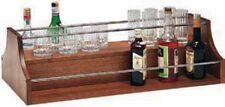 ACCESSORI PER CARRELLI LEGNO ACCIAIO Espositore liquori BAR PUB bottiglie 88x46