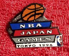 1996 NBA Japan Games Pin Tokyo