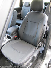 FORD GALAXY 3RD GEN BLACK CAR SEAT COVERS