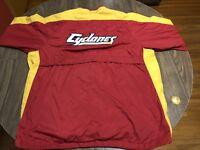 Iowa State University ISU Cyclones Red Yellow XL Nike Lightweight Zip Up Jacket