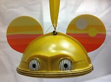 NWT Disney Star Wars 3-CPO Ear Hat Christmas Holiday Ornament - Droid