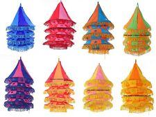 12 PC Wholesale Lot Vintage Shade Lamp Lighting Cotton Lamps Decor Handmade Boho