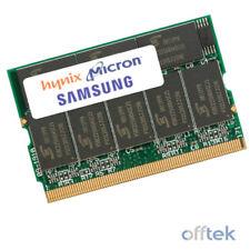 Memoria (RAM) de ordenador microdimm 172-pin Velocidad del bus del sistema PC2100 (DDR-266)