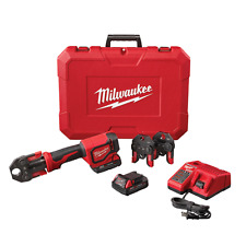 Milwaukee 2674-22c M18 Cordless Short Throw Tool Press Kit W PEX Crimp Jaws