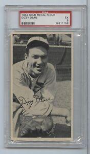 1934 Gold Medal Flour Dizzy Dean PSA 5