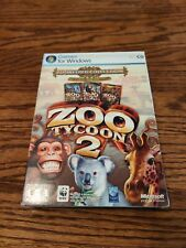 Zoo Tycoon 2 Zookeeper Collection (PC) *New,Sealed* 3 different games!