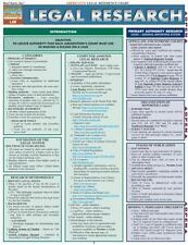 Legal Research Reference Chart (Quick Study: Law)-ExLibrary