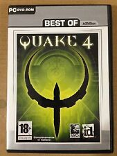 QUAKE IV 4 Best of ACTIVISION ID Strategia PC DVD ROM COMPLETAMENTE IN ITALIANO
