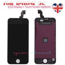 For iPhone 5C LCD Touch Screen Display Digitizer Assembly Replacement Black UK