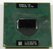 INTEL PENTIUM M RH80536 740 SL7SA PROCESSOR CPU 1.73/2M/533 Compaq NC6120