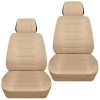 Fits 2012-2016 toyota Camry  front set car seat covers  sand