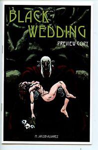 Black Wedding preview Jacob Alvarez mini comic 2017 VF