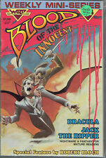 BLOOD OF THE INNOCENT  1-4  VF/NM/9.0  range. 4-issue collection!