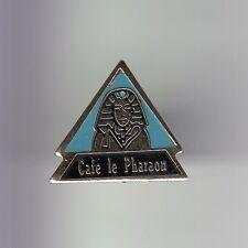 RARE PINS PIN'S .. TOURISME ART EGYPTE EGYPT LE PHARAON CAFE RENNES 35 ~DH