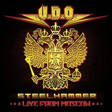 U.D.O. - STEELHAMMER-LIVE FROM MOSCOW (BLU-RAY+2CD DIGIPA 2 CD + BLU-RAY NEUF