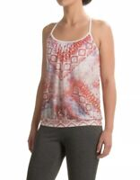 NWT Womens Prana Meadow Tank Sunwashed Red Yoga Active Wear Top Shirt Sz Medium