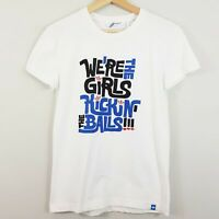 ADIDAS | Womens Vintage Graphic T-shirt Top [ Size XS (or size 12 Girls  ]