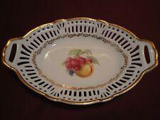 Schwarzenhammer, Bavaria Reticulated Porcelain Candy Dish