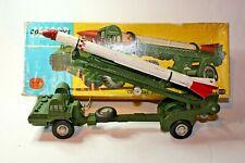 Corgi 1113 Corporal Missile on Erector Vehicle, Good Condition in Original Box