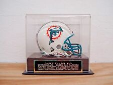 Mini Helmet Display Case With A Bart Starr Green Bay Packers Engraved Nameplate
