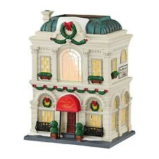 "Dept. 56 Christmas In The City ~ ""THE GRAND HOTEL"" ~ MIB"