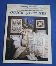 Stony Creek Collection Counted Cross Stitch Book #91 ~ Quick Stitches