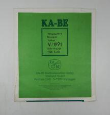 Ka-Be Vatikan 1991 Jahrgang Normal ml In German Stamp Album Pages