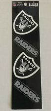 NFL Raiders, Sticker Set of 4: The Quad Decal *FREE SHIPPING*