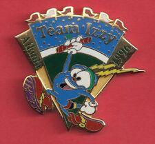 1996 Atlanta Team Izzy Athletics Olympic Pin Baton Relay Track