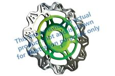 Ajuste KAWASAKI ZZR 1400 ABS (ZX 1400 06 > 07 EBC Vr De Disco De Freno Verde HUB Frontal Izquierdo
