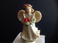 "Angels Among Us August Figurine ""Angel of Success"" Betty Singer BS12049 NIB"