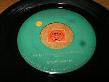 STEVE MARTIN - MY LITTLE ANGEL IN DISGUISE - LONELY   / LISTEN - TEEN POPCORN