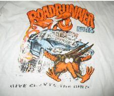 "Vintage 70s Hanes Label PLYMOUTH ROADRUNNER ""Scrunch! Hump!"" (MD) V-Neck T-Shirt"
