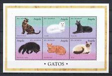 ANGOLA 1998 - KATZENRASSEN - GATOS - CATS